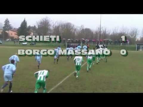 Sintesi  18^ giornata  SCHIETI   BORGO MASSANO  1   0