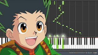 Departure! - Hunter x Hunter 2011 [ハンターハンター] Opening (Piano Synthesia)