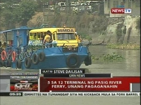 Pasig River Pasig River Ferry to Operate