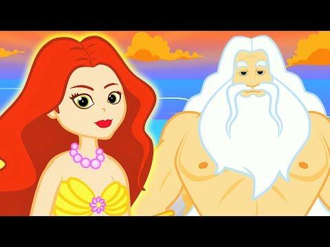 La Sirenita en Español - Dibujos Animados - Mejores Cuentos infantiles