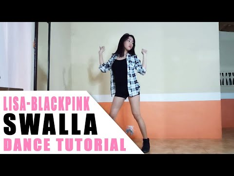 blackpink lisa swalla dance tutorial philippines rosa leonero