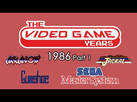 The Video Game Years 1986 Part 1: Sega Master System, Arkanoid, Jackal, Gumshoe
