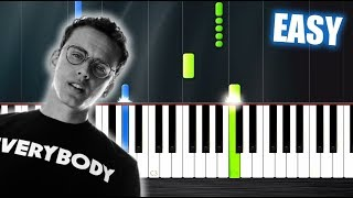 Download Lagu Logic - 1-800-273-8255 ft. Alessia Cara - EASY Piano Tutorial by PlutaX Gratis STAFABAND