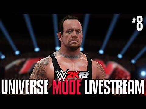 THE ROYAL RUMBLE MATCH! JOHN CENA VS UNDERTAKER FINALE! WWE 2K16 UNIVERSE MODE LIVESTREAM EP: #8