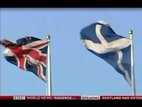 Scottish Independence Referendum, 2014 - Live Coverage - BBC World News - 19/9/14 - Part 1 of 4