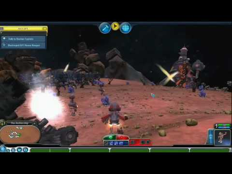 Spore Galactic Adventures: Playing the Missions