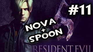 Resident Evil 6_ Leons Campaign w/Nova & Sp00n Co-op Ep.11: THE LAB