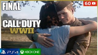 CALL OF DUTY WW2  - Final Español + Epilogo (Campaña Completa) PS4 | Mision Final (1080p 60fps)