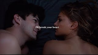 I'll break your heart.
