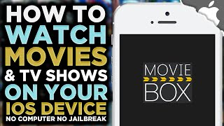 How To Get MOVIE BOX on your iOS Device! 8.3 and below (NO JAILBREAK) iPhone iPad iPod Touch