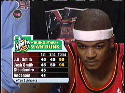 Josh Smith - 2005 Nba Slam Dunk Contest (champion) video