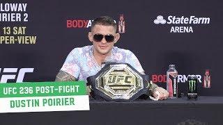 UFC 236 Post-Fight Press Conference: Dustin Poirier