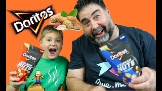 Doritos Crunch Nuts Taste Test and Review! | Vito the Kid