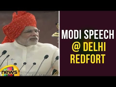 PM Narendra Modi Independence Day Full Speech At Red Fort - 68th Independence Day