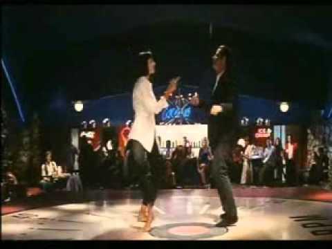 Uma Thurman Pulp Fiction >> Quentin Tarantino PULP FICTION - Ballo di Travolta e Uma Thurman - YouTube