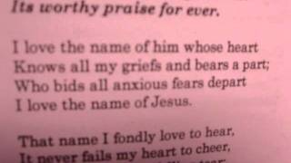 THE NAME OF JESUS IS SO SWEET
