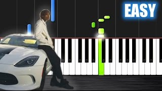 Wiz Khalifa  See You Again  EASY Piano Tutorial Lesson chords
