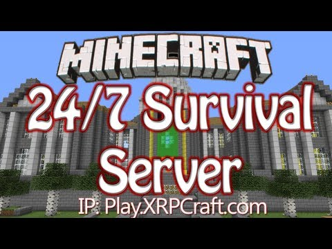 24/7 Minecraft 1.7 Survival Factions No Lag Server [NO WHITELIST] - XRPCraft