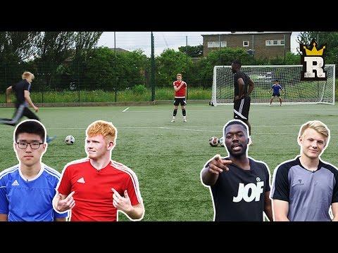 DIMITRI PAYET FREE-KICK CHALLENGE - YOUTUBER 2V2 | Rule'm Sports