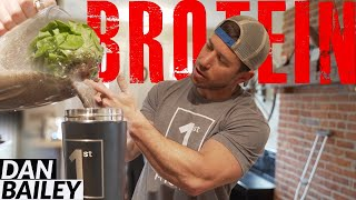 Dan Bailey | MY PRE WORKOUT PROTEIN SHAKE.