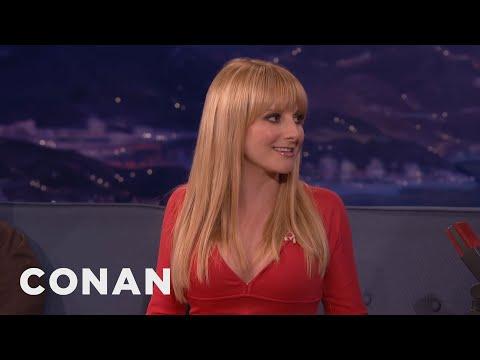 Melissa Rauch: Ninja Turtles Are My Free Sex Pass  - Conan On Tbs video