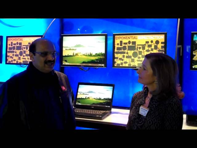 SMB Group talks to V.P. Chitale of Chitale Dairy at Dell's Global SMB Media Forum