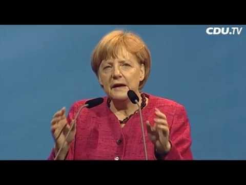 Die Rede von Angela Merkel in Schleiz