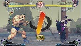 aiai (Juri) vs Hagejin (Zangief) - AE 2012 Matches *1080p*