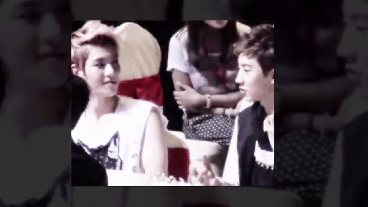 Chanyeol ♥ Baekhyun XOXO : EXO (kiss&hug) - YouTube