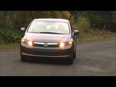2012 Honda Civic Natural Gas HD Video Review