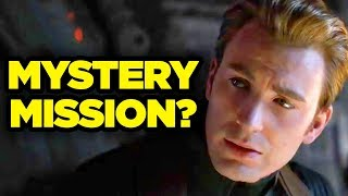 AVENGERS ENDGAME Theory - Cap's Mission Revealed!