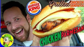 Burger King® | GRILLED Chicken Parmesan Sandwich Review 🐔🇮🇹 | Peep THIS Out! 🍔👑