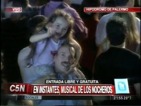 C5N - HIPODROMO DE PALERMO: LA PREVIA DEL MUSICAL DE LOS NOCHEROS