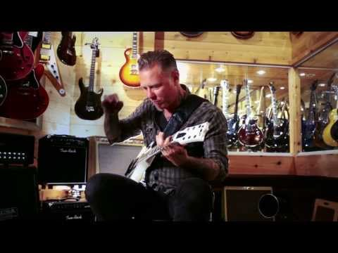 Metallica's James Hetfield At Guitar Center video