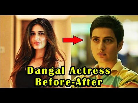 """Dangal"" Movie Actress Transformation 