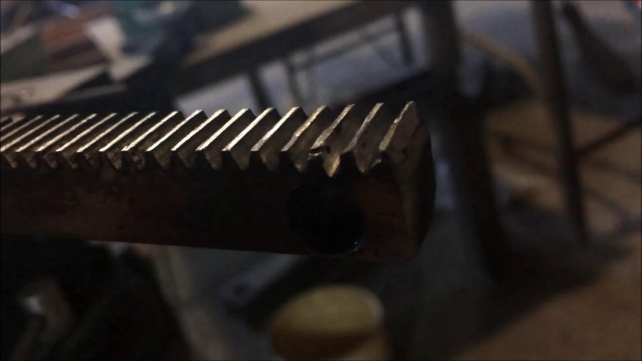 Как изготовить зубчатую рейку своими руками 30