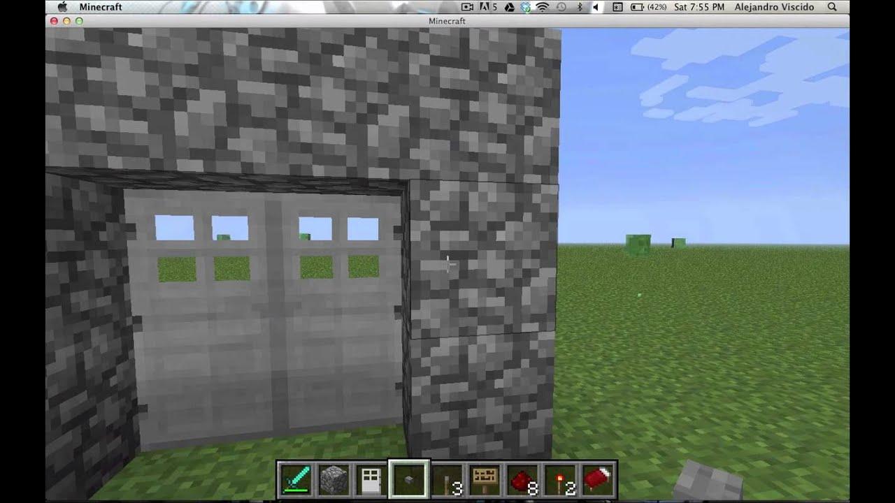 Minecraft como abrir puertas de hierro youtube - Puertas de hierro ...