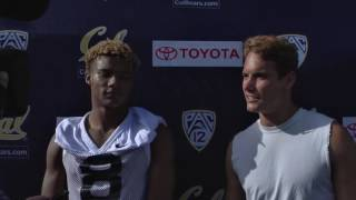 Cal Football: WR Demetris Robertson & Chad Hansen 8-01-16