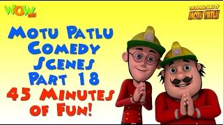 Motu Patlu Comedy Compilation - Part 18 - Motu Patlu Compilation- As seen on Nickelodeon