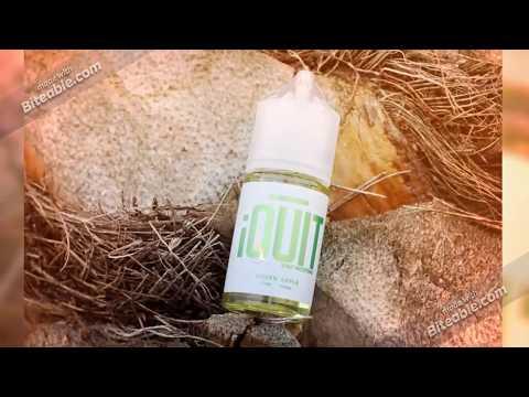 vapoorzon.com | iQuit Salt Nicotine Premium E Liquid 50MG - 30mL