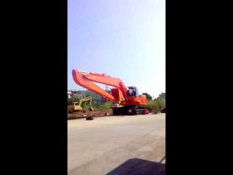 VID 20131024 -EX1100 long boom made by Hongwing Heavy Industry Co., Ltd