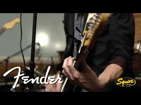 Squier Strat Guitar with USB & iOS Connectivity