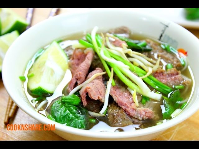 Vietnamese Inspired Beef Noodle Soup (Pho)