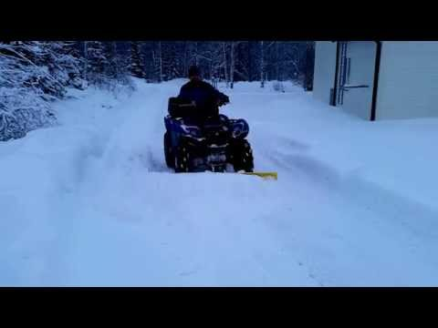 Snow Plow Yamaha Grizzly 550