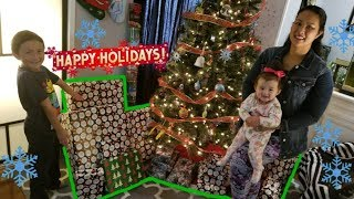 OUR FAMILIES BEST CHRISTMAS EVER!! SECRET SURPRISE PRESENTS FROM FRIENDS!! TONS OF TOYS AND FUN!!