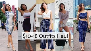 $10-18 CHEAP ONLINE SHOPPING FROM SHEIN - IS IT A SCAM??? HUGE TRY-ON CLOTHING HAUL