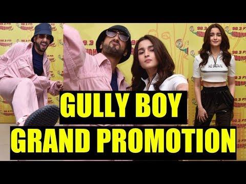 Gully Boy Promotion At Radio Mirchi  Ranveer Singh And Alia Bhatt At Radio Mirchi