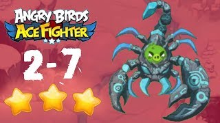 Angry Birds Ace Fighter - Cobalt Plateaus 2-7 BOSS [HERO]