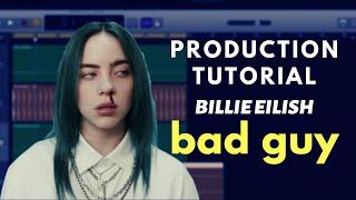"GarageBand Production Tutorial: Billie Eilish - ""bad guy"" | Beat Academy"