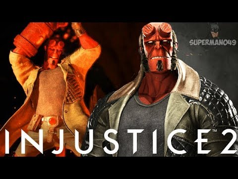 Injustice 2: Hellboy Gameplay Showcase On The Watchtower Coming Soon!
